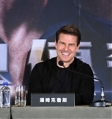 Tom Cruise at The Mummy Press Conference